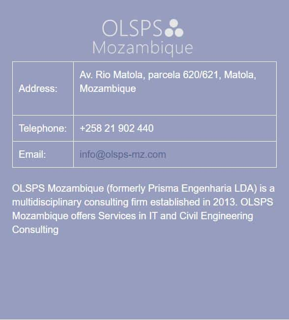 OLSPS Mozambique office information